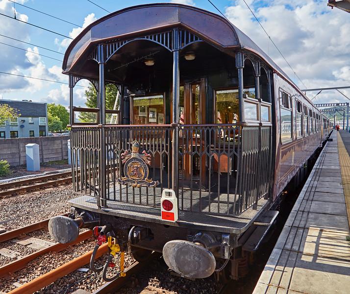'Royal Scotsman' at Gourock Station - 22 May 2016