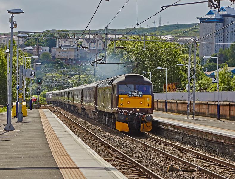 'Royal Scotsman' at Greenock Station - 19 July 2015