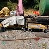 Geismar ST/01/34 & Geismar trailer - Rushden Transport Museum & Railway - 15 July 2018