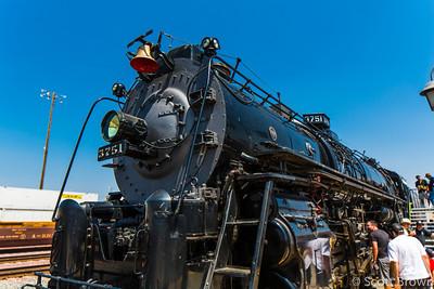 Santa Fe 3751 Steam Train