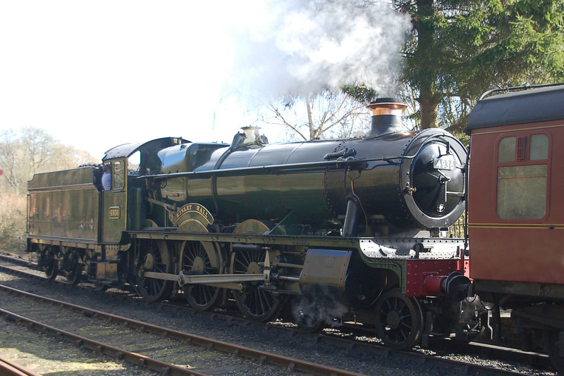 4936 Kinlet Hall - Highley, Severn Valley Railway - 21 March 2014