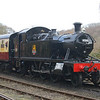 4566 - Highley, Severn Valley Railway - 21 March 2014