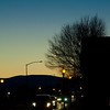 Alamosa CO evening street shot.