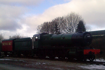 Furness Railway Trust's 4979 Wootton Hall at Appleby Heritage Centre.