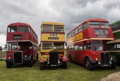 Doncaster 94, Douglas 52, London RT3233
