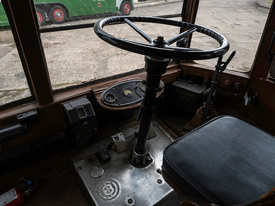 Bradford 746 Driver's cab