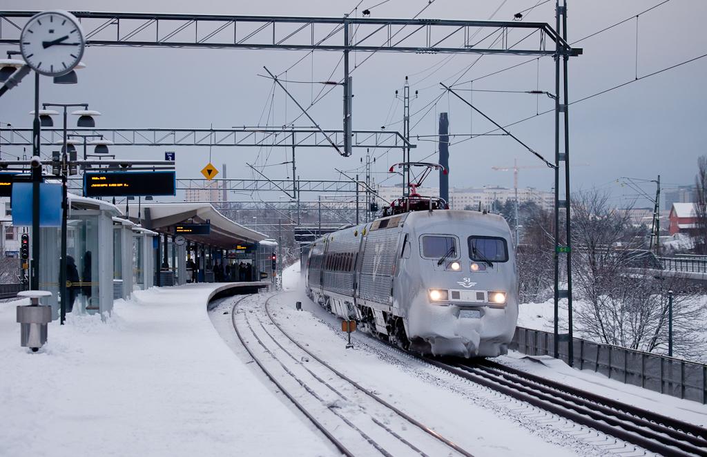 X2000 in Arstaberg.