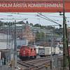 Tågkraft 1031 and 1004 in Stockholm Årsta Kombiterminal in Västberga.