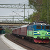 TGOJ Ma 403 with an icehockey fan special in Stuvsta.