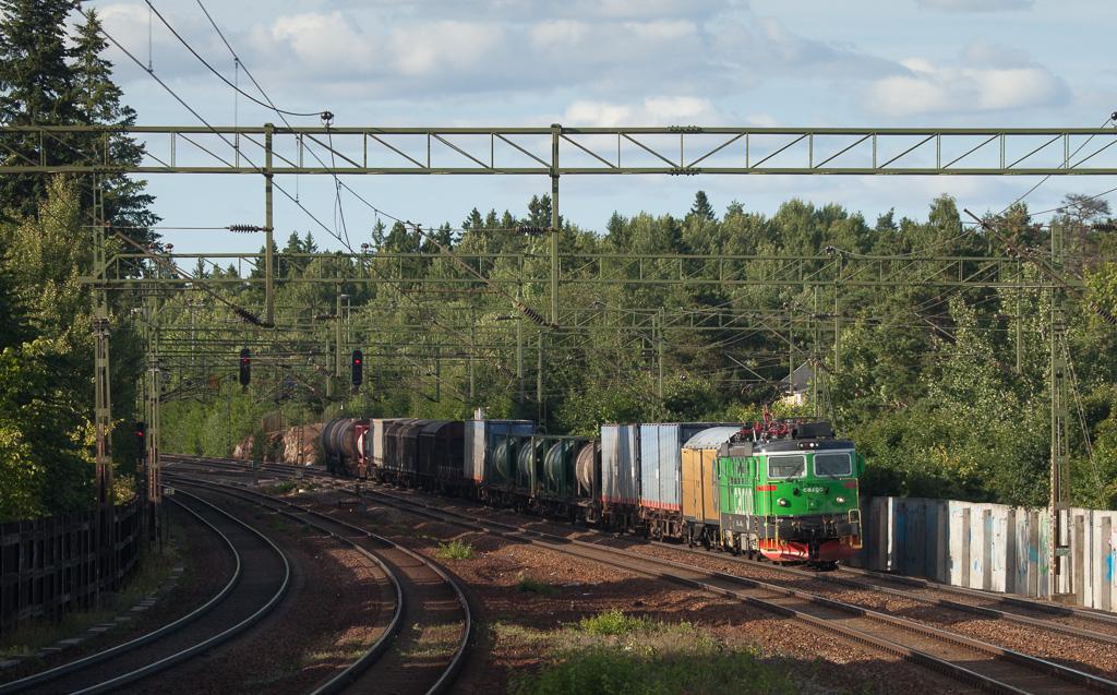 Green Cargo Rd2 1099 in Stuvsta.