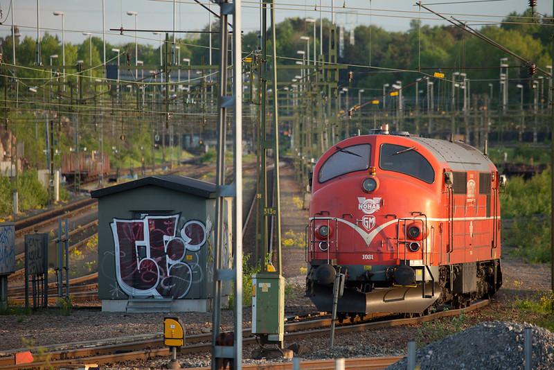 Tagkraft MX 1031 in Vastberga.