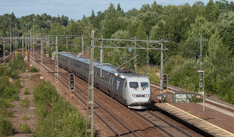 SJ X2000 in Flemingsberg.