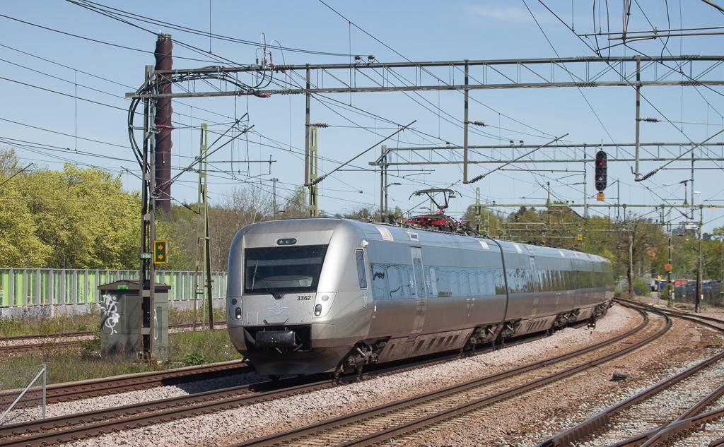 X55 3362 in Älvsjö.