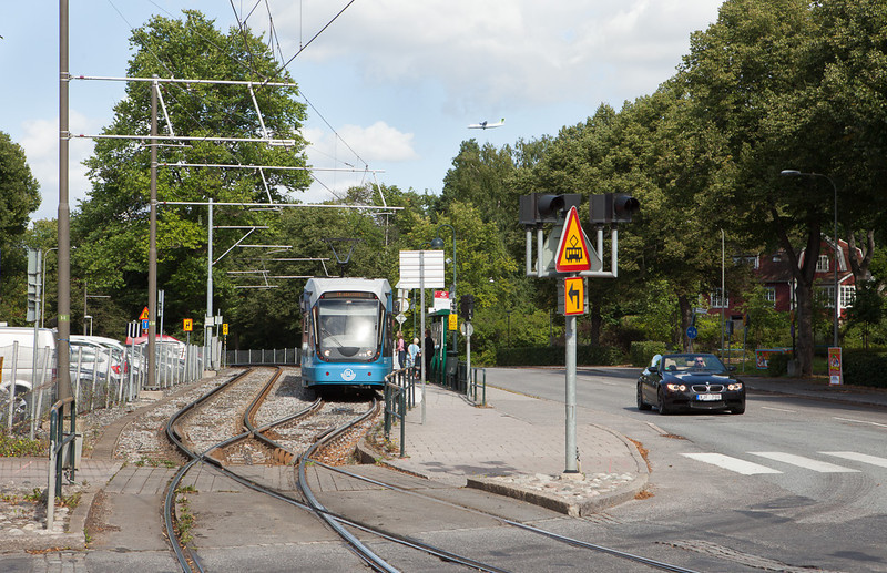Nockebybanan at Alleparken.