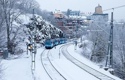 Lidingöbanan in Torsvik.