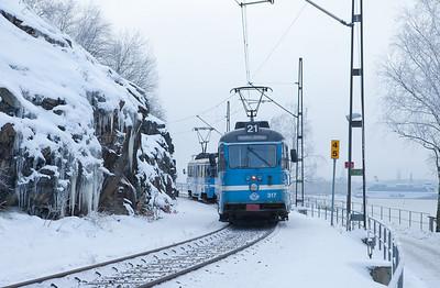 Lidingöbanan heading upgrade from Torsvik.