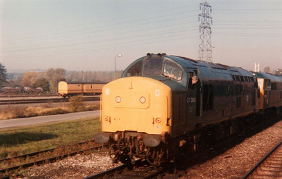 'Scanned Images'  The Tees Tyne Boggard' Railtour  27/10/84