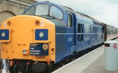 Scanned Railtours