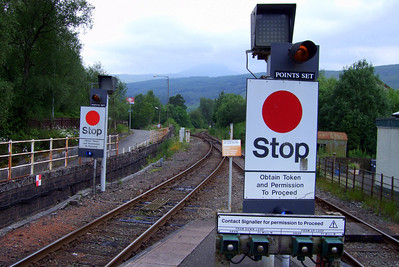 The RETB signalling at Crianlarich, 03/07/09.