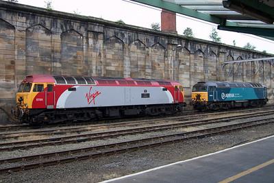 57311 Parker and 57314 at Carlisle, 03/07/09.