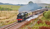 Royal Scot (46100) at the Scottish Borders Railway - 28 August 2016