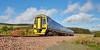 DMU 158870 on the Scottish Borders Railway  - 8 October 2015