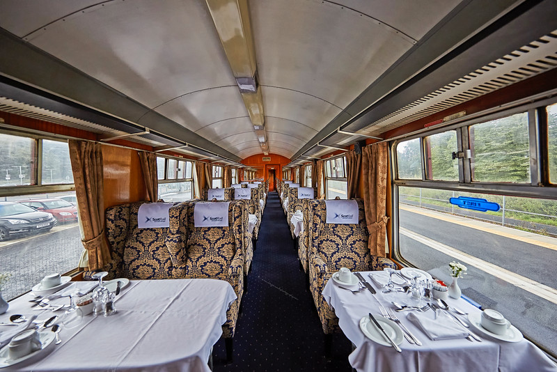 Tour Carriage at the Scottish Borders Railway - 28 August 2016