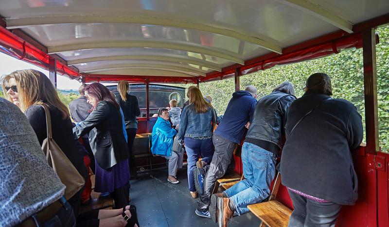 All Aboard the Brake Van at Scottish Industrial Railway Centre - 27 September 2015
