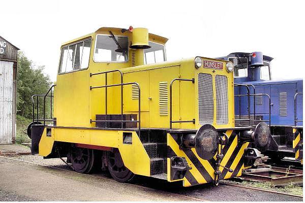 9046 Hunslet 0-4-0DH - Scottish Vintage Bus Museum