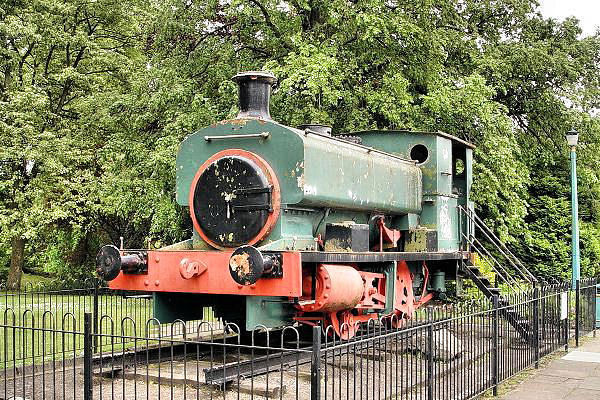 1996 A Barclay 0-4-0ST - Scottish Vintage Bus Museum, seen at Pittencrief Park, Dunfermline Trust