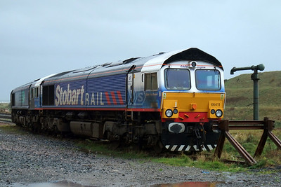 66411 Eddie the Engine and 66422 at Sellafield.
