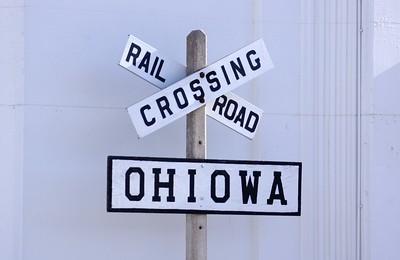 Ohiowa, NE CB&Q Sign