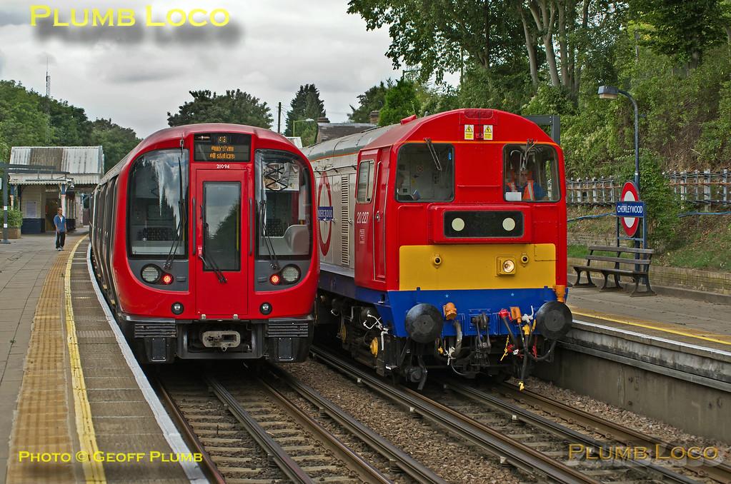 LUL Train 746, Chorleywood, 3rd September 2013