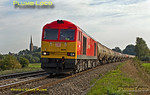 60091, 6E55, King's Sutton, 27th September 2013