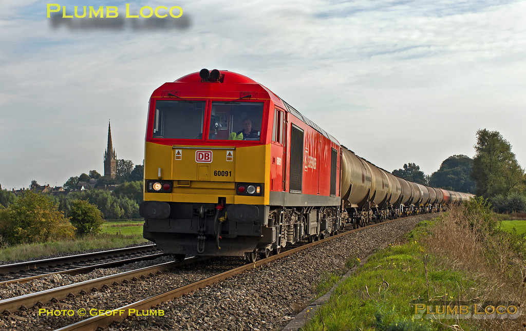 60091, 6E55, King's Sutton, 27th September 2013