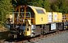 "TransPlant Schoma diesel locomotive 1 ""Britta Lotta"" is seen stabled at Ongar."
