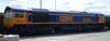 66763 at Tonbridge on Sunday 6th September 2015