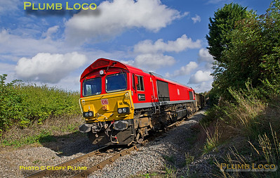 66185, Park Mill Crossing, 6Z58, 30th September 2016