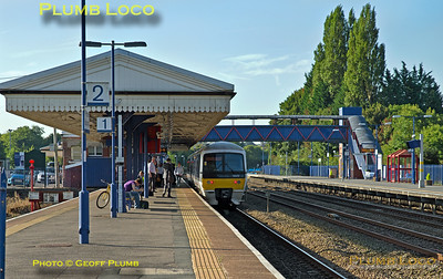 165 012, Princes Risborough, 1Y19, 13th September 2016