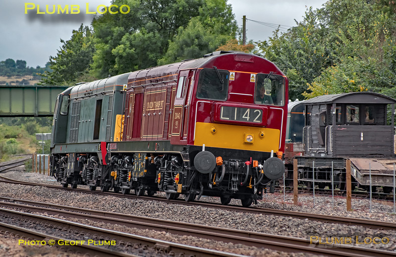 20142 & 20007, Princes Risborough, 0Z20, 11th September 2019