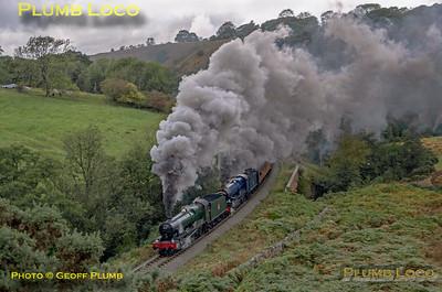 GWR Nos. 6990 & 6023, Darnholm, 27th September 2019