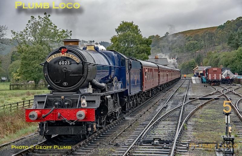 """6023 """"King Edward II"""", Levisham, 27th September 2019"""
