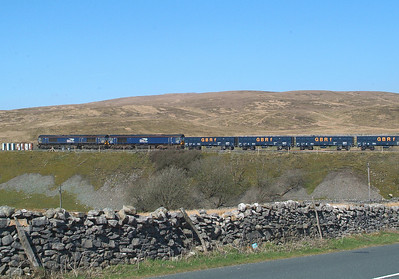 As far north as they got. Next move reverse into Ribblehead Quarry Sidings.
