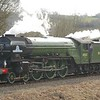 60163 Tornado - Highley, Severn Valley Railway - 16 March 2018