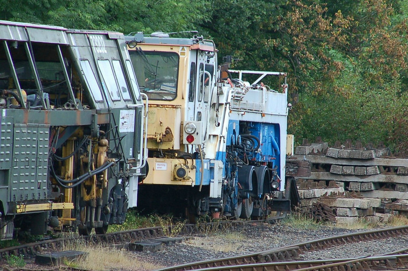 Plasser RU411 - Highley, SVR - 18 June 2011