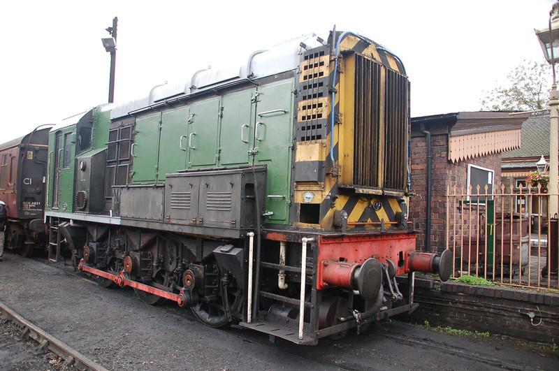D3586 - Bridgnorth, SVR - 25 September 2011