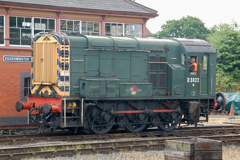 D3022 - Kidderminster, SVR - 18 June 2011