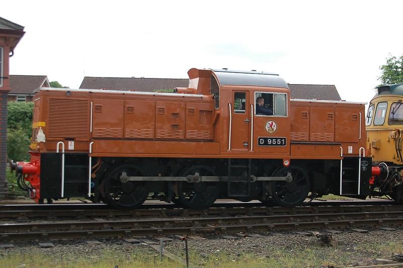 D9551 - Kidderminster, Severn Valley Railway - 20 May 2017