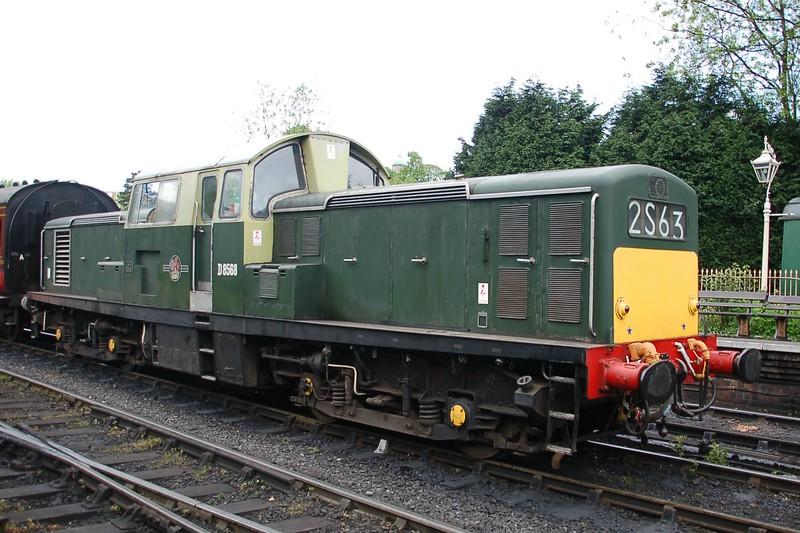 D8568 - Bridgnorth, Severn Valley Railway - 18 May 2017