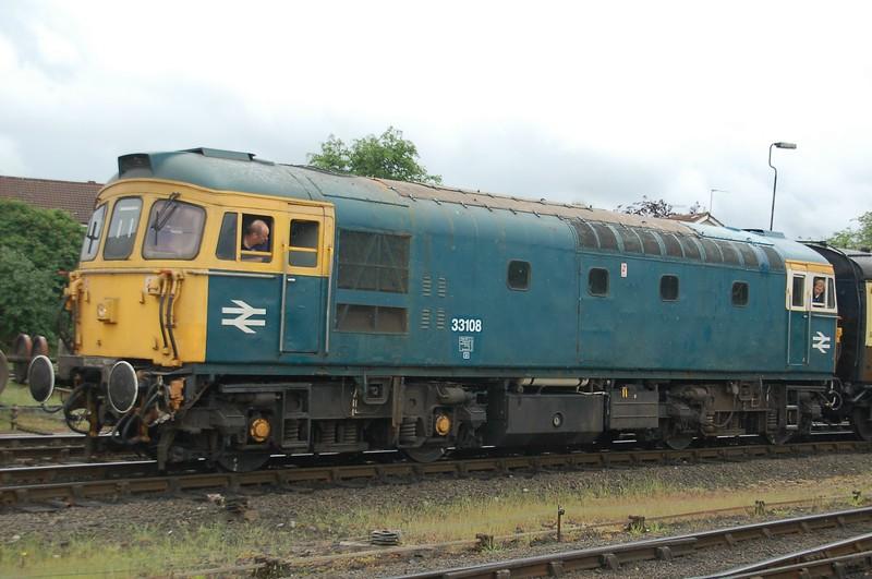 33108 - Kidderminster, Severn Valley Railway - 20 May 2017